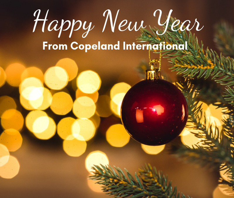 Happy New Year from Copeland!
