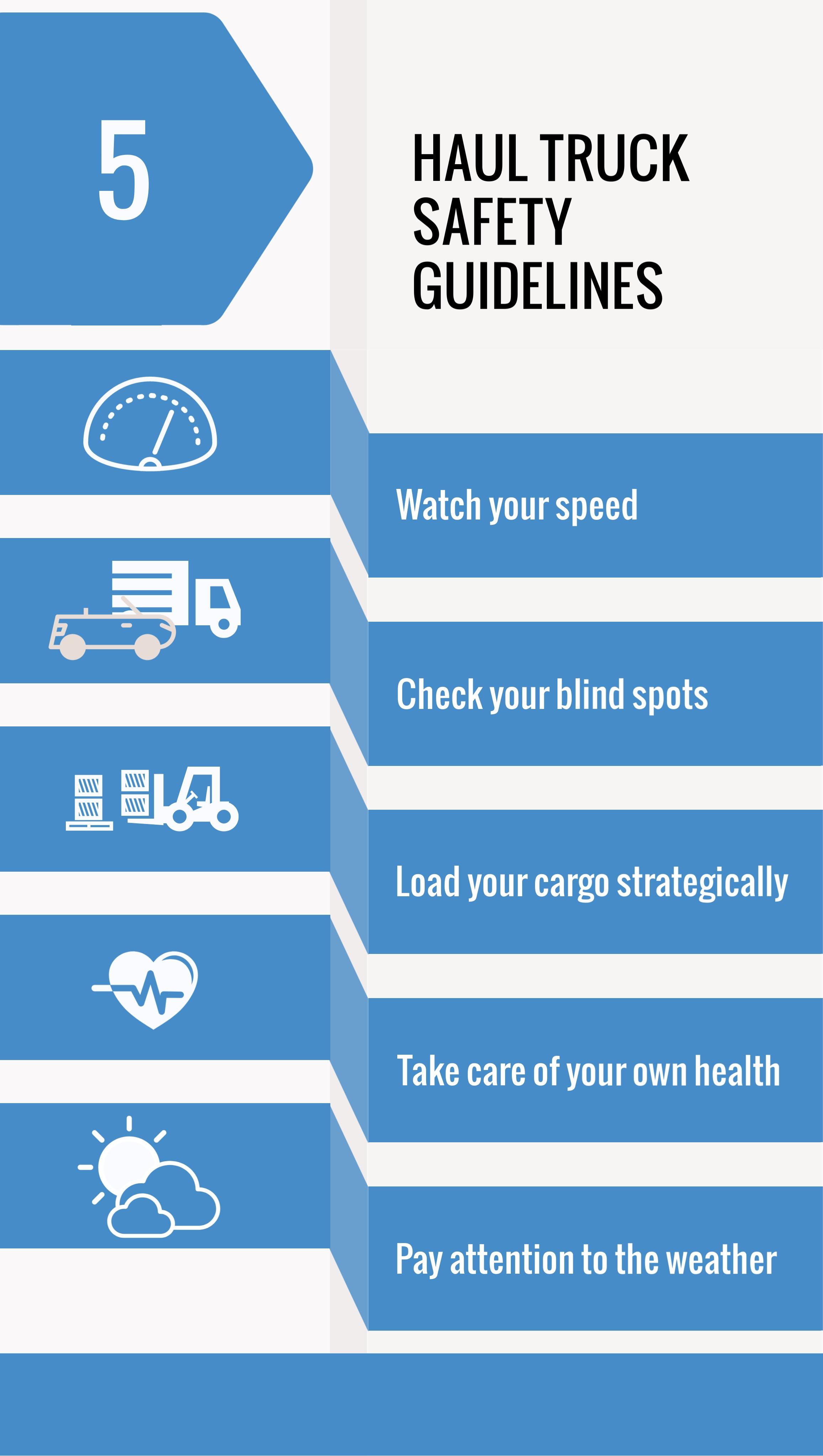5 Haul Truck Safety Guidelines, Copeland International, Houston